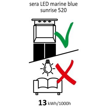 LED marin blue sunrise 520mm i 13W