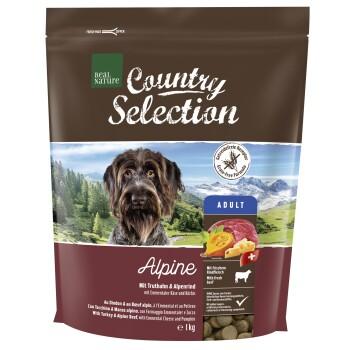 Country Selection Alpine Dinde et bœuf alpin 1kg
