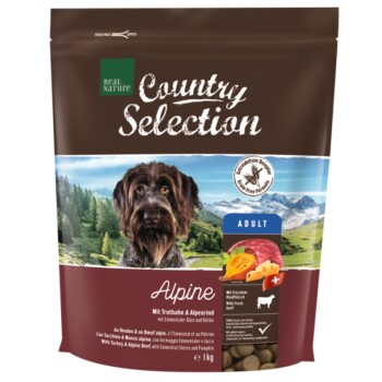 Country Selection Alpine Dinde et bœuf alpin 1 kg