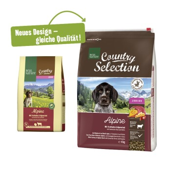 Country Selection Alpine dindon et bœuf alpin 4 kg