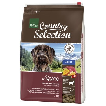 Country Selection Alpine Dinde et bœuf alpin 4kg