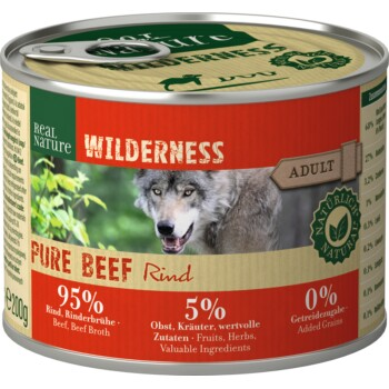 WILDERNESS Adult 6x200 g Bœuf Pure Beef