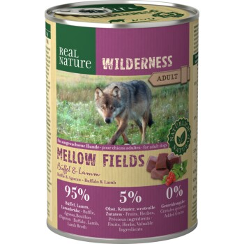 WILDERNESS Adult 6x400g Mellow Fields Büffel & Lamm