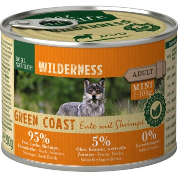 WILDERNESS Mini 6x200g Green Coast Ente mit Shrimps