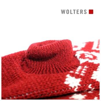 Norweger Pullover Rot 20cm