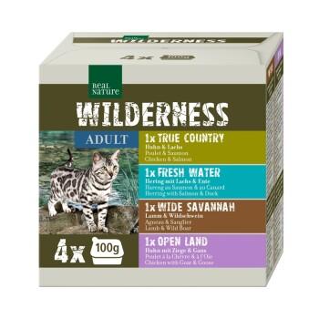 WILDERNESS Adult Confezione multipla 4x100 g Mix 1