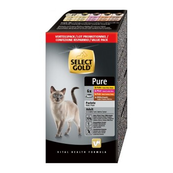 Adult Pure 6x85g Multipack 1