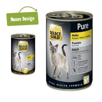 Pure Adult Paté 6x400g Huhn