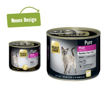 Adult Pure 6x185g/200g Cheval