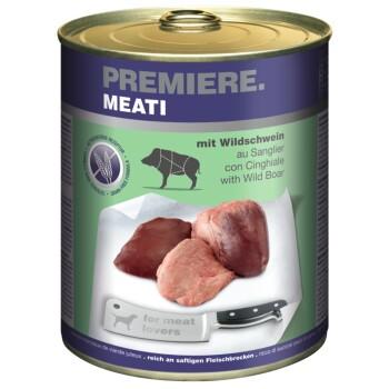 Meati 6 x 800 g Dzik