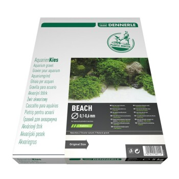 Aquarien Kies Beach 0,1-0,6mm