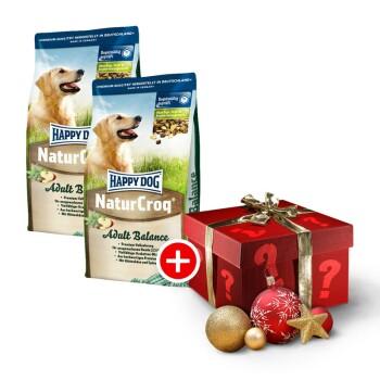 NaturCroq Balance Sparpaket 2x15kg + gratis Weihnachtsüberraschung