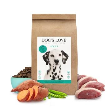 Dog's Love eend en zoete aardappel 12kg
