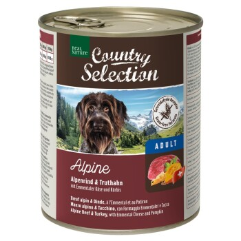 Country Selection 6x800 g Alpine con Manzo alpino e Tacchino