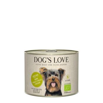 Dog`s Love BIO 6x200g Huhn mit Buchweizen & Sellerie
