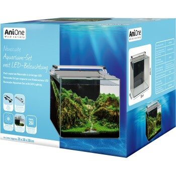 Kit aquarium Nanocube , éclairage LED