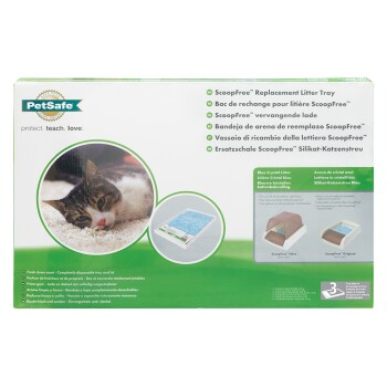 Pet Safe Scoop Free Einweg-Toilettenschale 3 Stk.