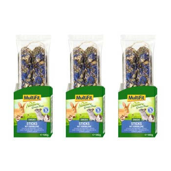 Grain Free Sticks 3x100g Kornblume