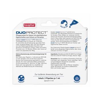 Duo Protect Spot-On Katze 3x1ml