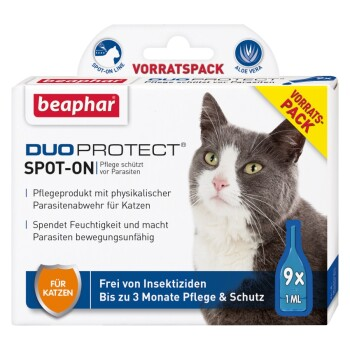 Duo Protect Spot-On Katze 9x1ml