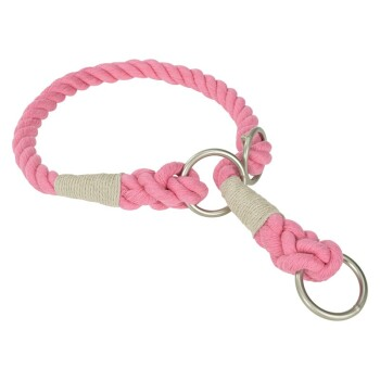 Tau-Halsband Pink M