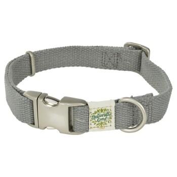 Halsband Grau L