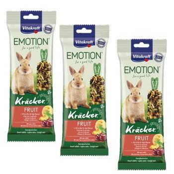 Emotion Kräcker Fruit Coniglio nano 3x2