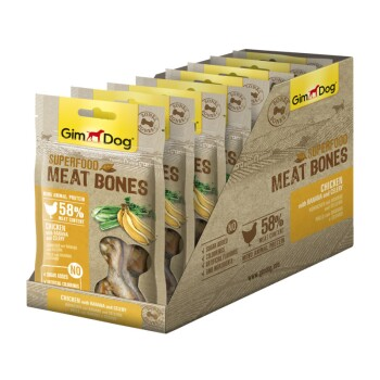 Superfood Meat Bones 8x70g Huhn mit Banane und Sellerie