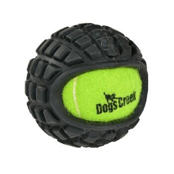 Tennisball mit Gummi Grip L