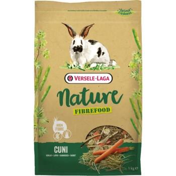 Nature Cuni Fibrefood für Kaninchen 1kg
