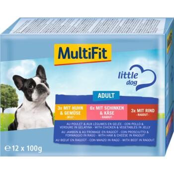 Adult Little Dog Multipack 12x 100g