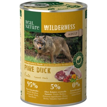 WILDERNESS Adult 6x400g Pure Duck Ente