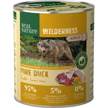 WILDERNESS Adult 6x800g Pure Duck Ente