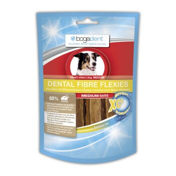 Dental Fibre Flexies 2x70g Medium