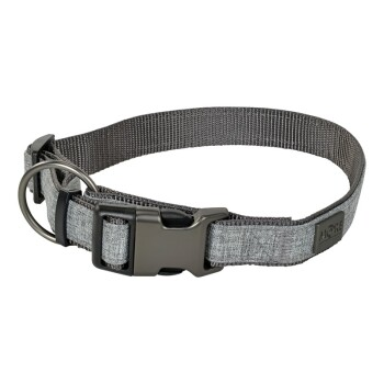 Halsband London Grau L