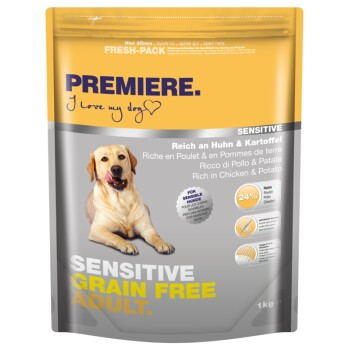 Sensitive Grain Free Adult Huhn 1kg
