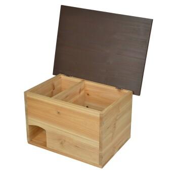 Igelhaus Holz