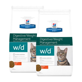 Prescription Diet w/d Digestive/Weight Management 2x5 kg