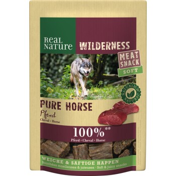 WILDERNESS Meat Snack Soft 150 g Cheval