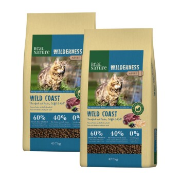 WILDERNESS Wildcoast Adult Thunfisch mit Huhn, Büffel & Krill 2x7kg