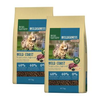 Wilderness Wildcoast Adult Tuńczyk z kurczakiem, bawołem i krylem 2x7kg