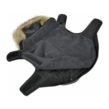Wintermantel 2in1 Schwarz 54cm