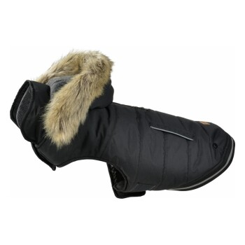 MORE Wintermantel 2in1 Schwarz 44cm