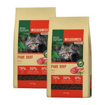 WILDERNESS Pure Beef Adult 2x7kg