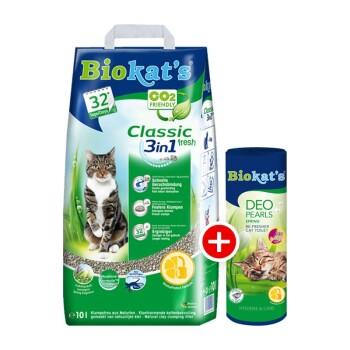 Pack dégustation Biokat litière et déo