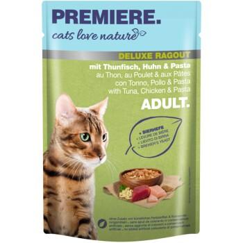 cats love nature Deluxe Rice ragout 24x100g met tonijn, kip en pasta