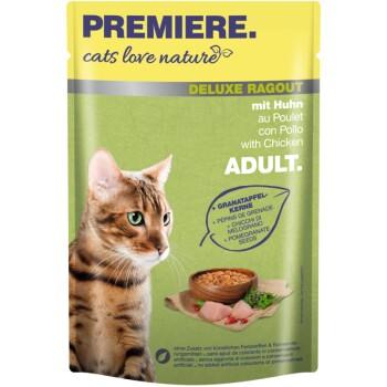 cats love nature Deluxe Rice ragout 24x100g met kip