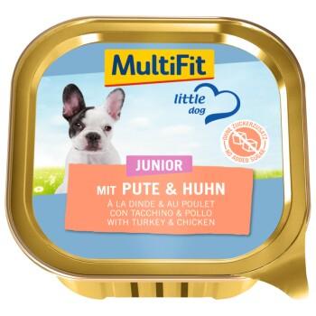 Junior Little Dog 11x150g Mit Pute & Huhn