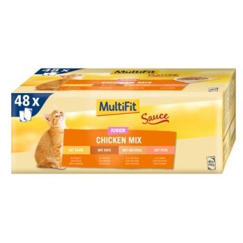 Junior Sauce Chicken Mix Multipack 48x100g
