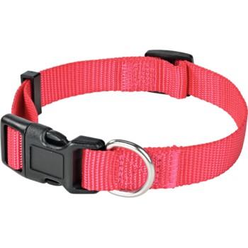 Halsband + Leine Pink S